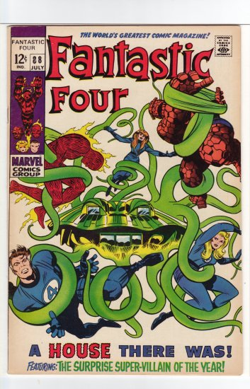 Fantastic Four # 88 VF+ to NM-
