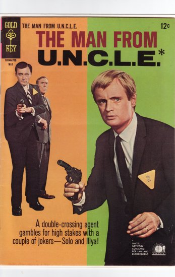 Man from U.N.C.L.E. # 12 VF/NM to NM-