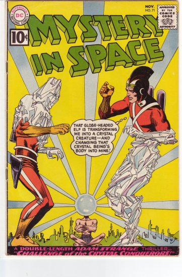 Mystery in Space # 71 FN+ to FN/VF