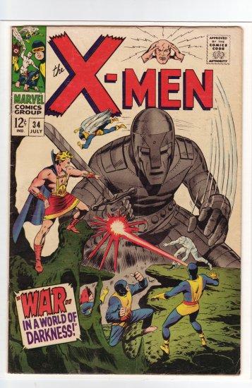 X-Men # 34 FN+ to VF-