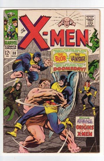 X-Men # 38 FN- to FN+