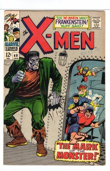 X-Men # 40 VF+ to VF/NM