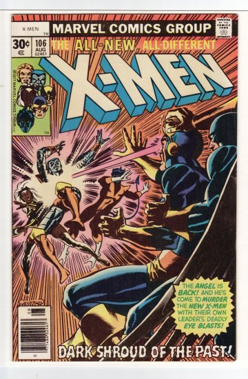 X-Men # 106 VF+ to VF/NM