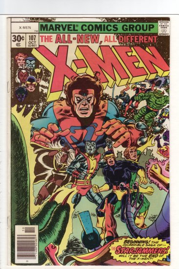 X-Men # 107 VF/NM to NM-