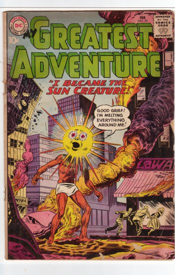 My Greatest Adventure # 52  VG to VG+