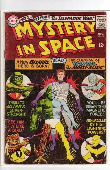 Mystery in Space # 103  VG to VG/FN