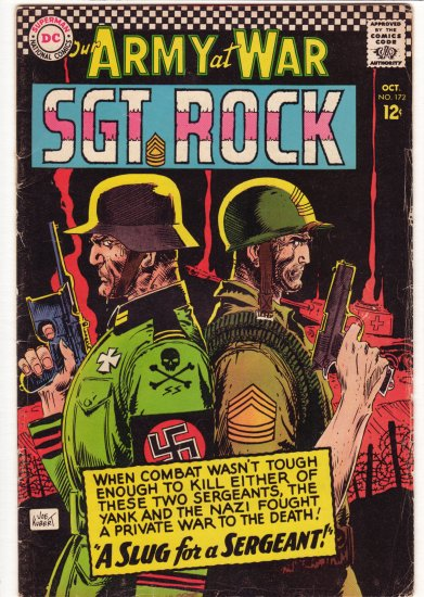 Our Army at War # 172  VG/FN to FN-