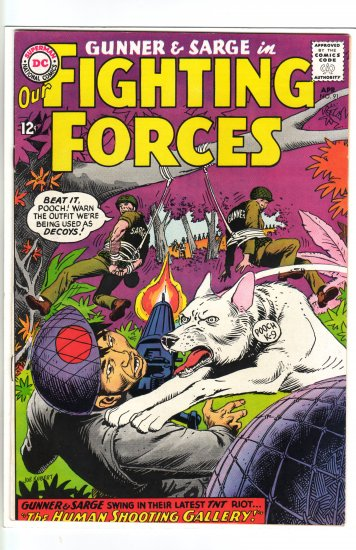 Our Fighting Forces # 91  VF+ to NM-