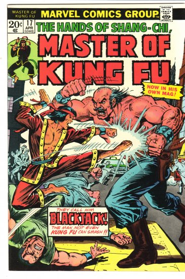 Master of Kung Fu # 17  NM- to NM