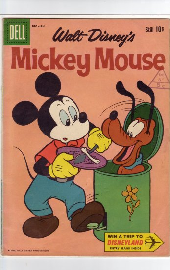 MIckey Mouse # 75  FN/VF to VF