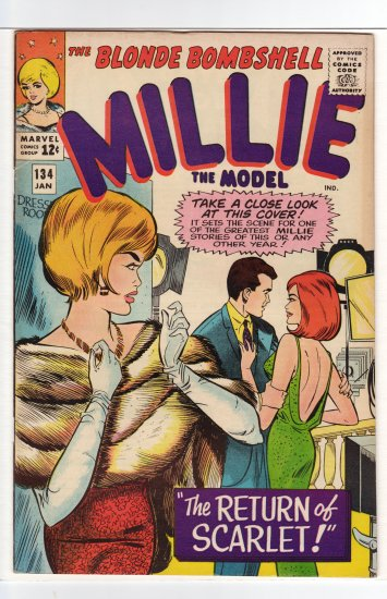 Millie the Model # 134  VF to VF/NM