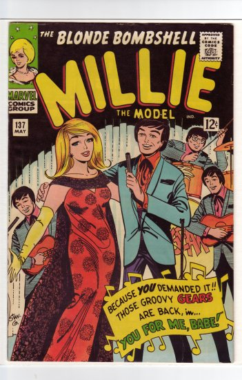 Millie the Model # 137  VF/NM to NM-