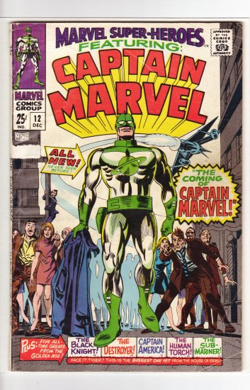Marvel Super-heroes # 12  VG- to VG+