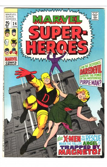 Marvel Super-heroes # 24  VF to VF/NM