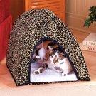 Leopard Print Cat Tent