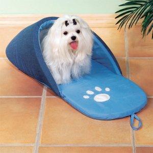 Slipper Pet Bed Denim