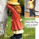 Hide-n-seek statues