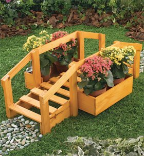 Garden Bridge Planter