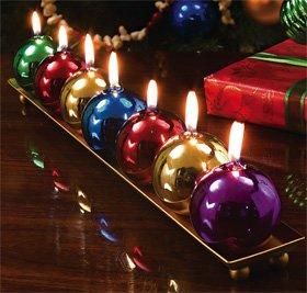 Holiday Candle Set