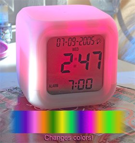 Color-Changing Mood Clock