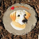 Dog Breed Stepping Stones - Yellow Lab