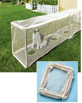 Outdoor Cat Tunnel