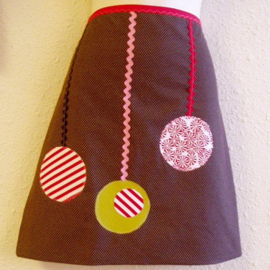 Three Cheers Vintage Inspired Holiday Apron