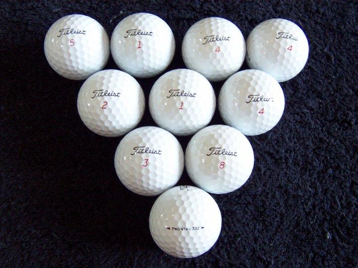 36 (3 doz) Titleist Pro V1X Golf Balls AAA+ Condition