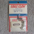 Lot of 160 Style 182BA Barbless Eagle Claw Hooks NEW in packages - size 4/0 - Nickel