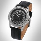 ROUSSEAU MUSE MENS 20J AUTOMATIC LUXURY WATCH NEW LEATHER STRAP