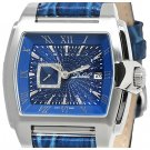DUBOULE OXFORD MENS AUTOMATIC WATCH NEW BLUE LEATHER