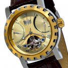 WOHLER MARX MENS 38J AUTOMATIC LUXURY WATCH CHAMPAGNE