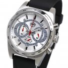 SUG TYPHOON MENS CITIZEN OS20 CHRONOGRAPH WATCH NEW S.U.G. WHITE-SILVER COLOR DIAL