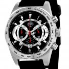SUG TYPHOON MENS CITIZEN OS20 CHRONOGRAPH WATCH NEW S.U.G. BLACK-SILVER COLOR DIAL