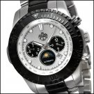 S.U.G. CLUTCH MEN'S 21J AUTOMATIC WATCH NEW STAINLESS STEEL BRACELET