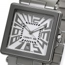 CERRUTI 1881 MENS IMPERO UOMO SWISS STAINLESS WATCH NEW WHITE SILVER FREE USA SH