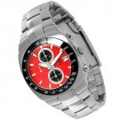 SUG AVENGER MENS CITIZEN OS10 CHRONOGRAPH STAINLESS STEEL WATCH NEW S.U.G. RED