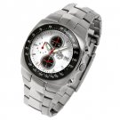 SUG AVENGER MENS CITIZEN OS10 CHRONOGRAPH STAINLESS STEEL WATCH NEW S.U.G. WHITE