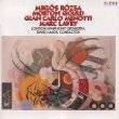 Miklos Rozsa Morton Gould Gian Carlo Menotti CD SEALED