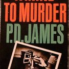 A Mind to Murder P D James 1974 Paperback