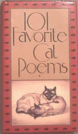 101 Favorite Cat Poems Various Authors 1991 HC/DJ