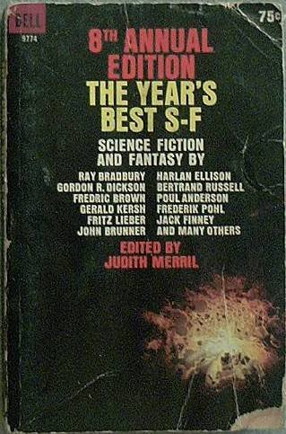 8th Annual Edition The Year's Best S-F Various Authors 1964 Paperback