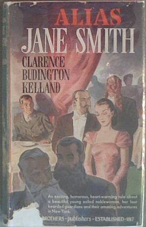 Alias Jane Smith Clarence Budington Kelland 1944 HCDJ