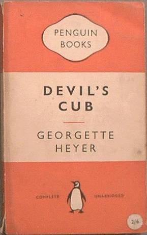 Devil's Cub Georgette Heyer 1954 Paperback
