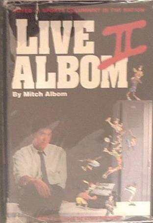 Live Albom II Mitch Albom 1990 HC/DJ