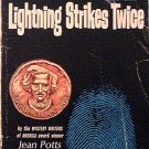 Lightning Strikes Twice Jean Potts 1962 Paperback