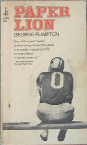 paper lion george plimpton 1967 paperback