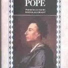 Poems and Prose of Alexander Pope 1985 Paperback