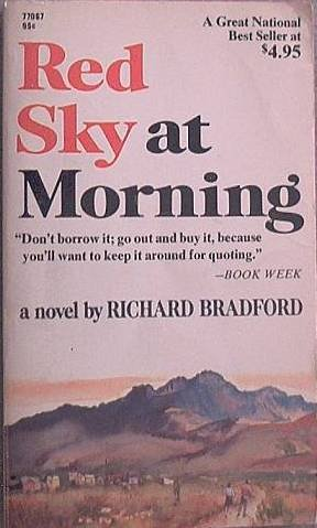 Red Sky at Morning Richard Bradford 1969 Paperback