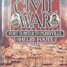 The Civil War Volume 1 Shelby Foote 1986 Soft Cover